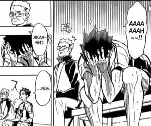 anime, hq, and haikyuu image