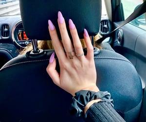 aesthetics, car, and light purple image