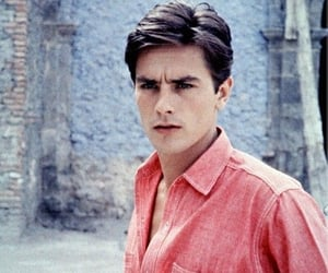 Alain Delon, ethereal, and france image