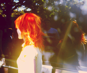 back, hayley williams, and redhead image
