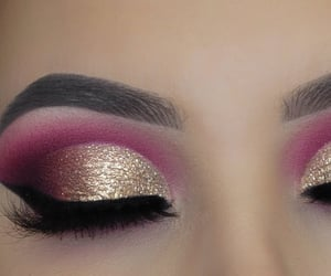 bridal, pretty, and eyemakeup image