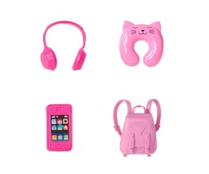 accessories, bag, and barbie image