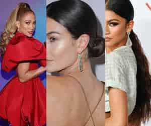 hair salon, weave hair, and ponytail hairstyle image