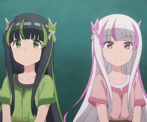 anime, header, and égirl image