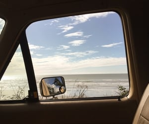 adventure, late night drive, and beach image