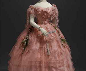 19th century, dress, and gown image