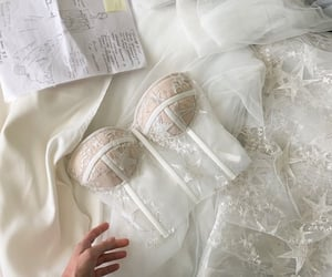 beautiful, details, and dress image