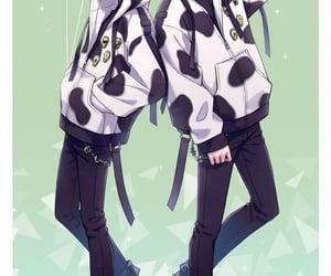 anime, cute, and twisted wonderland image