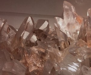 crystal, aesthetic, and beige image