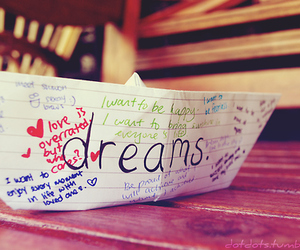 Dream and boat image