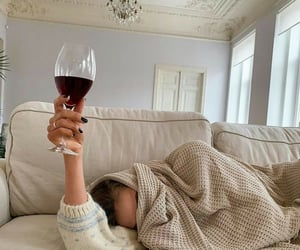 wine and cozy image