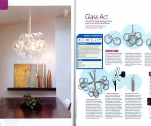 do it yourself and bubble chandelier image