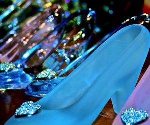 cinderella and glass slippers image