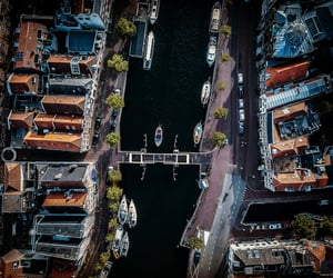 aerial photography, cities, and city image