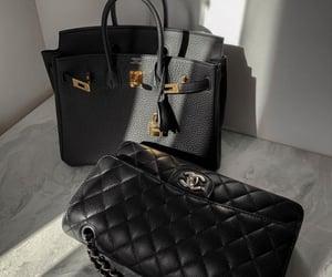 bag, black, and elegant image