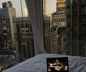 view, home, and bed image