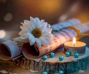 candle, image, and lovely image