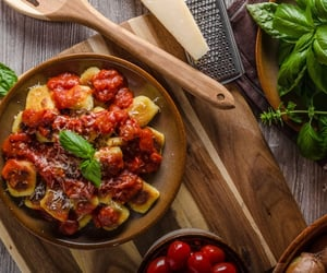 gnocchi with ground bison image
