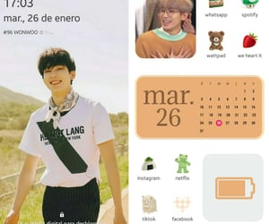 kpop, layout, and Seventeen image
