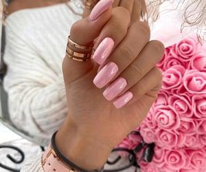 fashion, nail nails nailart, and pink image