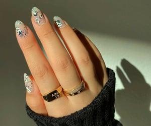 fashion, ring, and nail nails nailart image