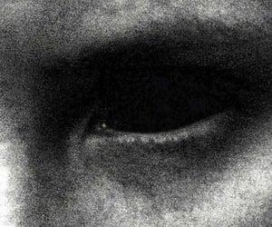 aesthetic, black eye, and dark image