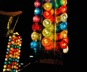 aesthetic and carnival lights image