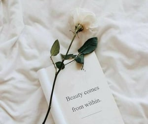 quotes, white, and flowers image