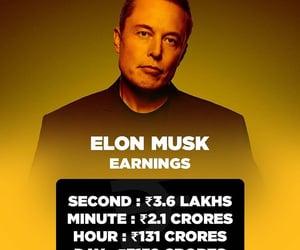musk, earning, and elon image