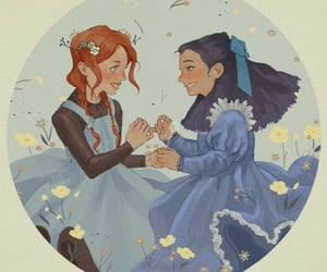 anne, diana, and art image