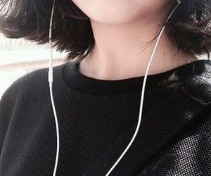 chin, girl, and short hair image