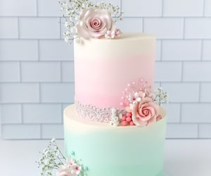dessert, sweets, and Bleu image