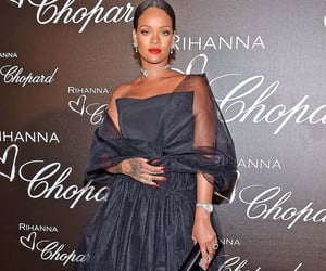haute couture, rihanna robyn fenty, and badgalriri image