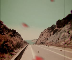road, summer, and drive away image
