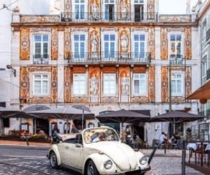 architecture, old building, and old car image