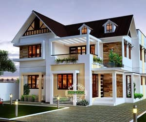 Very Beautiful 4 Bedroom Home Design  - Engineering Discoveries