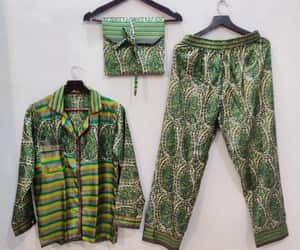 nightdress, nightwear, and pyjamas image