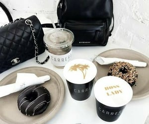 chanel, coffee, and food image