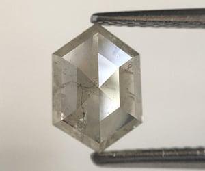 hexagon shape diamond image
