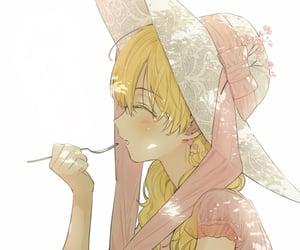 anime girl, manga, and who made me a princess image