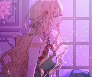 aesthetic, diana, and webtoon image