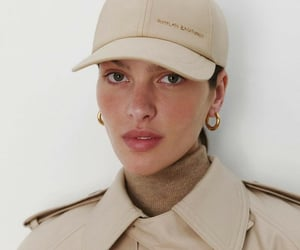 aesthetic, beige, and face image