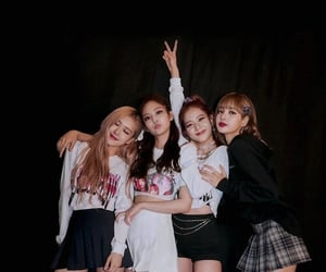 blink, rose, and jennie image