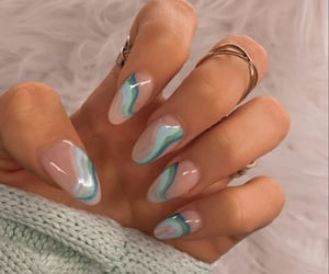 manicure, nail art, and nail inspo image