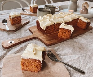 baking, carrot cake, and goals image