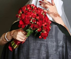 couple, wedding, and muslim image