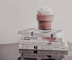 ice cream, aesthetic, and books image