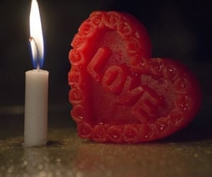 be mine, candle, and couple image