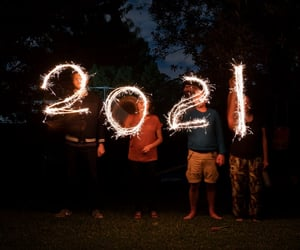 fiction, horror, and new year image