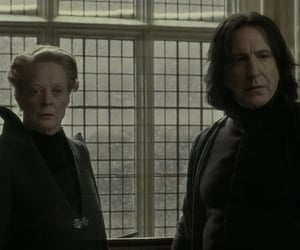 hermione granger, severus snape, and ron weasly image
